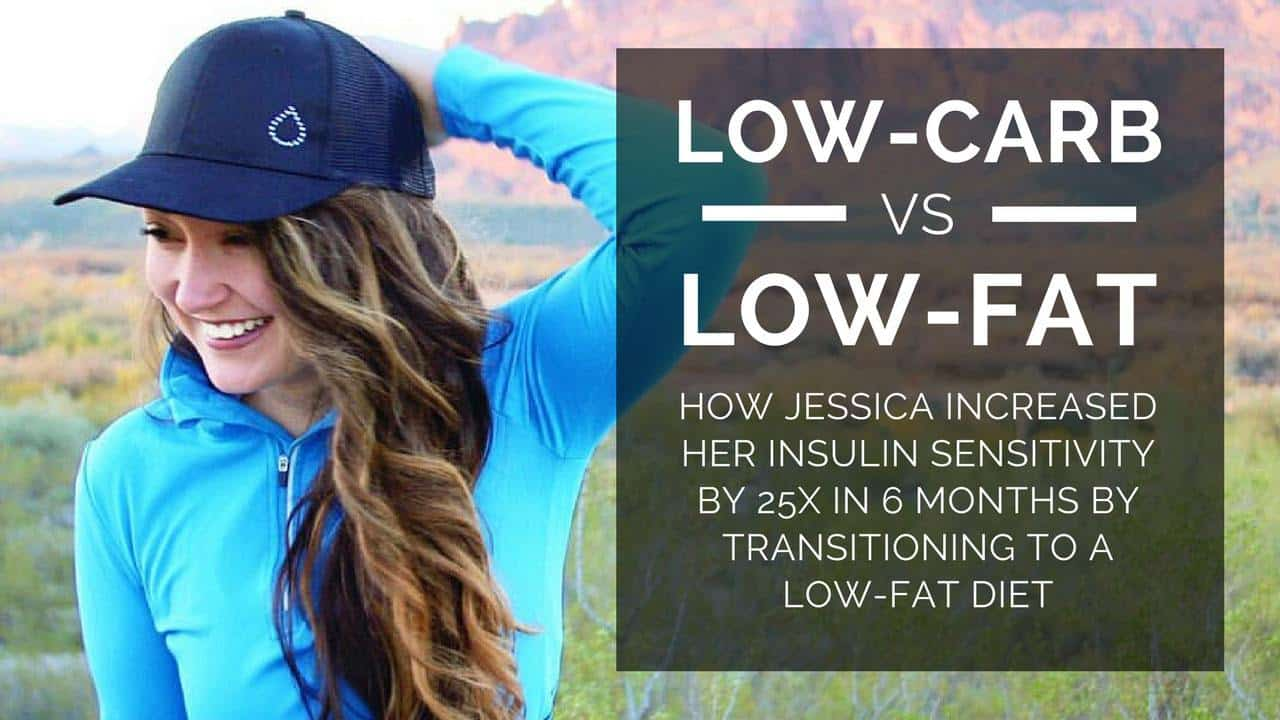 Low-Carb vs. Low-Fat Diet Insulin Sensitivity