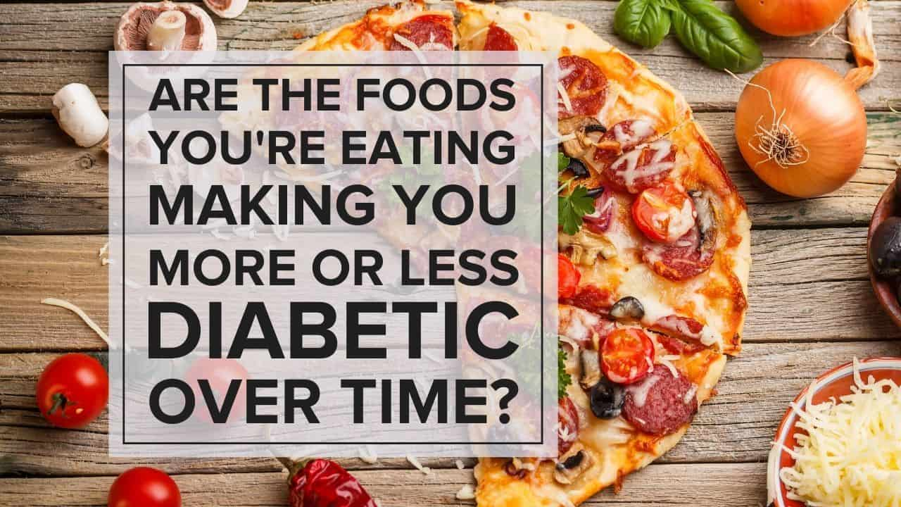 More or less diabetic