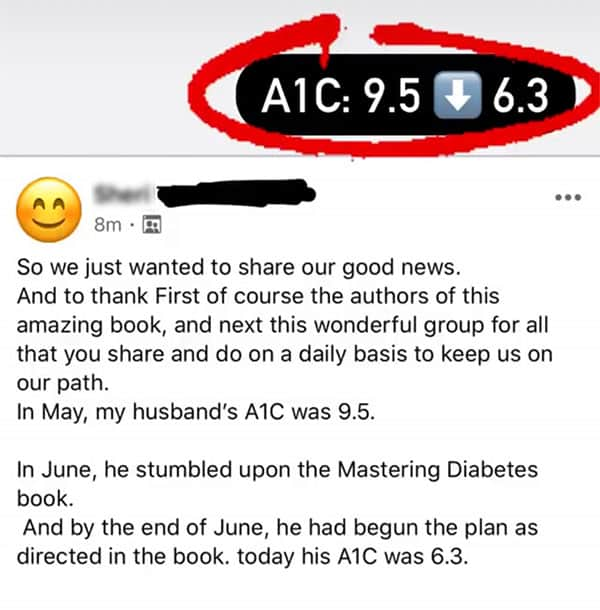 Diabetes testimonial